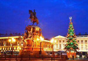 Новогодние каникулы в Санкт-Петебурге