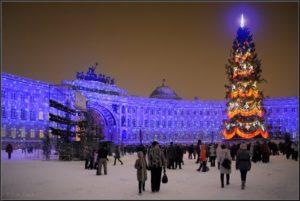 Новый год Санкт-Петербург